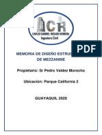 Memoria tecnica Parque California.pdf