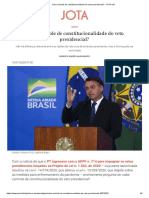 Cabe controle de constitucionalidade do veto presidencial_ - JOTA Info.pdf