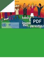 Cuaderno sobre diversidad sexual y derechos humanos - OACNUDH