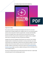 6 Rules for Creating Instagram Stories Ads the Right Way