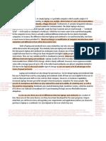 Saron M H (18IGS12376) - UTS Academic Writing
