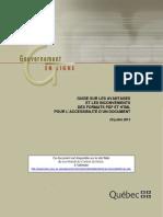 GUIDE SUR LES AVANTAGES ET LES INCONVÉNIENTS DES FORMATS PDF ET HTML POUR L ACCESSIBILITÉ D UN DOCUMENT (1)