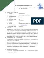 SÍLABO DE TESIS I - MAESTRIA.doc