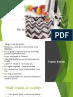 Plastic Bangles by Janhvi Pathak (Sustainability)