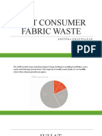 POST CONSUMER FABRIC WASTE