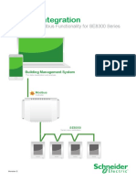 SE8300 Series Room Controllers - Modbus - Integration Guide