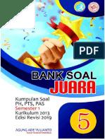 BANK SOAL KELAS 5 AGUNG
