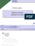 Cours 6 - Mémoire virtuelle