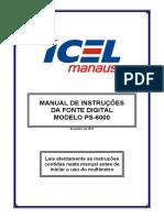 PS-6000 Manual de instruções