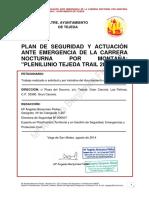 679_PLAN Sellado Web DE SEGURIDAD Y EMERGENCIA DE LA TRAIL MARATÓN PLENILUNIO DE TEJEDA 2014