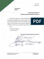 150. Pr de Hotărâre de Parlament - Stare Excepțională Agricultură 04.08.2020