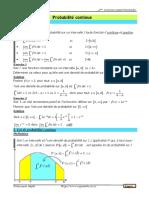 Cours Math - Probabilité Continue - Bac Math Mr Dhaouadi Nejib www.sigmaths.co.cc