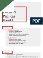 Unidad 4 Finanzas Públicas