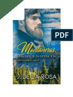 De La Rosa Jose - Montañeros 01 - Montañeros Una Especie En Extincion.doc