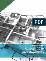 Material Didatico - Autocad 2016 para Arquitetos