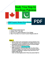 Canada Study Visa Step by Step Process From Pakistan.docx