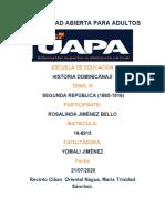TAREA III HIST. DOMINICANA II ROSALINDA JIMENEZ 2020.docx
