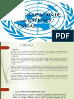 Organizacion de las naciones unidas