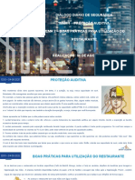 DDS - 04-08-2020 - T1 Proteção auditiva T2 Boas práticas para utilização do restaurante