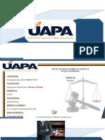 Tarea III de Deontologia Juridica