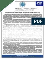 Comunicado Seccional Jujuy