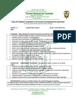 Guía II. Inglés 1°