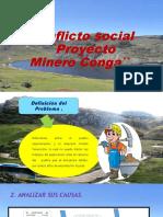Conflicto social ``Proyecto Minero Conga``