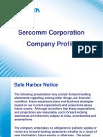Sercomm profile_May2019