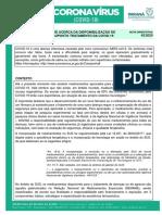 Nota Orientativa COE 42 RECOMENDACAO DO COE ACERCA DA DISPONIBILIZACAO DE MEDICAMENTOS PARA SUPOSTO TRATAMENTO DA COVID 19 17 julho 2020.pdf