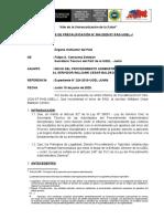 INFORME DE PRECALIFICACION INICIO PAD WILIAMS BALDEON