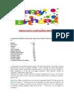 PRESUPUESTO CUMPLEAÑOS INFANTIL.docx
