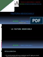 33 La Factura Negociable of