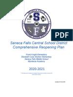 Comprehensive Re-Opening Plan