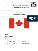 CANADÁ - INFLACIÓN
