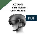 KC N901 Smart Helmet - User Manual