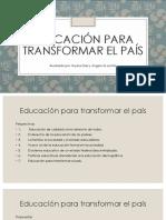 2 Educacion para transformar el pais Pobreza .pdf