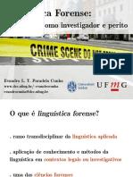 cunha - linguistica forense