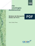 síntese de oxido de ferro