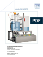 TSI User Manual LC2030