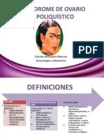 4. SÍNDROME DE OVARIO POLIQUÍSTICO