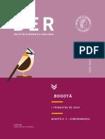 Boletin Económico Regional - Bogota - Colombia - Primer trimestre 2020