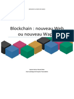 Mémoire - Blockchain - nouveau Web ou nouveau Wap