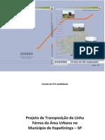 Projeto de Transposição de Linha Férrea Da Área Urbana de Itapetininga/SP