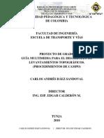 a Manual de procedimientos de campo