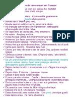 Frases de uso comum em Guaraní