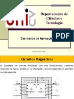 Circuitos Magnéticos -Exercícios
