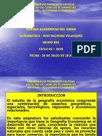 UFG - GECO - Programa y normas academicas del curso - Ciclo 02-2020 - Grupo N01