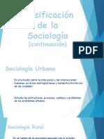 Clasificación de la Sociología - Parte 2