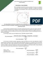 Ficha Resumo - Força Centrípeta