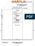Sample Ballot Huntsville AL Municipal Election August 25, 2020